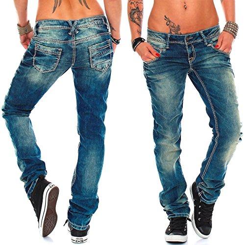 Donna Baxx Blau amp; Jeans Cipo xPwaX5