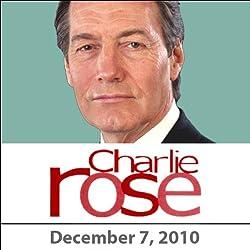 Charlie Rose: Anthony Weiner, Al Hunt, Nicole Krauss, and Florian Henckel von Donnersmarck, December 7, 2010