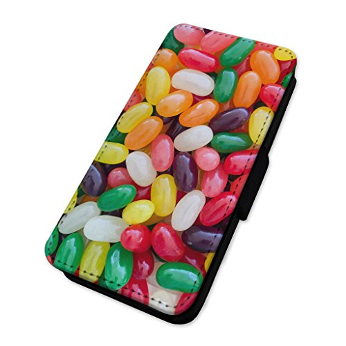 Jelly Sweets – Retro Candy collage – Flip cover in pelle cover Apple Iphone 7 Plus