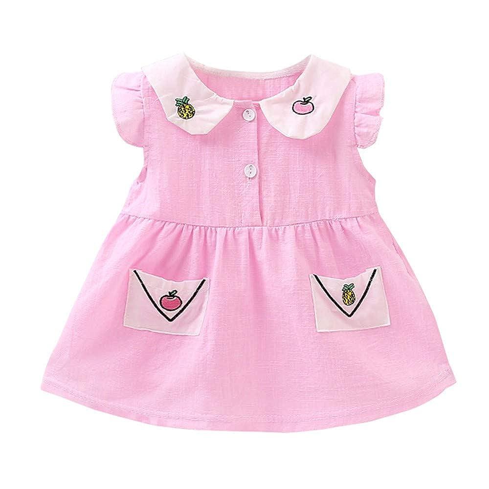 OPAKY Vestido Princesa de Las Niñas Bebés Flores del Desfile ...