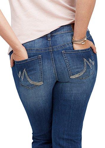 maurices Women's Plus Size Denimflex Medium Wash Bootcut Jean 22W Medium Sandblast by maurices