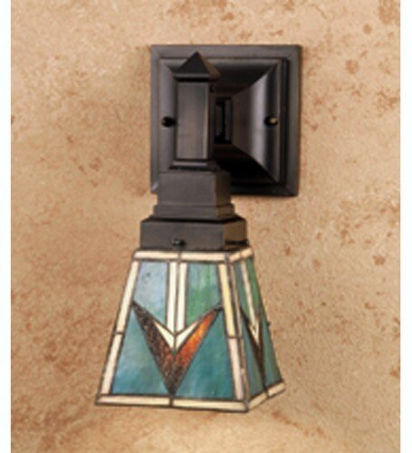 Meyda Home Indoor Living Room Decorative 5''W Valencia Mission Wall Sconce by Meyda