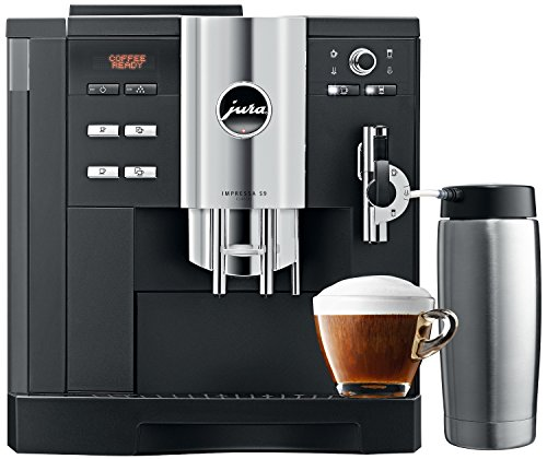Jura Impressa S9 Classic One Touch Espresso Coffee Machine (Black)