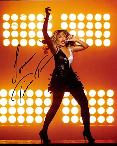TINA TURNER signed 8x10 photo from Authentic Autographs