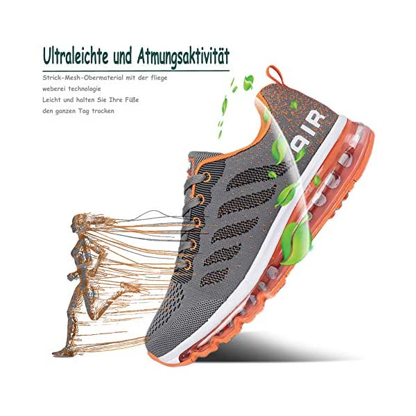 Air Running Baskets Chaussures Homme Femme Outdoor Gym Fitness Sport Sneakers Style Multicolore Respirante