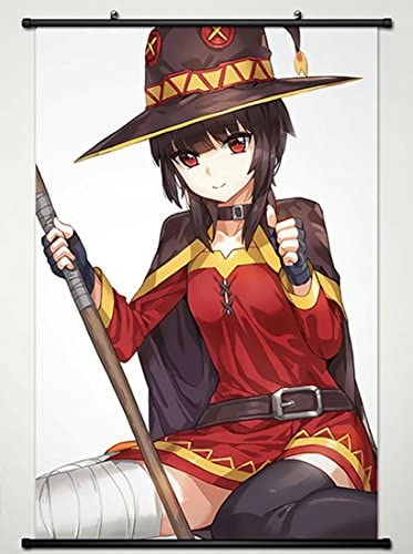 Konosuba Group Wall Scroll Poster NEW