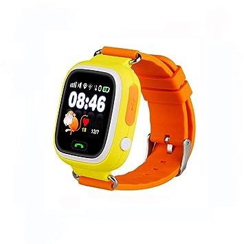 Jslai Reloj Localizador GPS Niños Reloj Rastreador Pantalla Táctil Smartwatch para Niños con SOS Reloj Despertador Anti-perdida GPS Kid Tracker ...