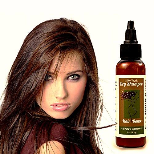 Dry Shampoo Volume Powder 100% Natural & Organic. For Dark Hair and Blonde