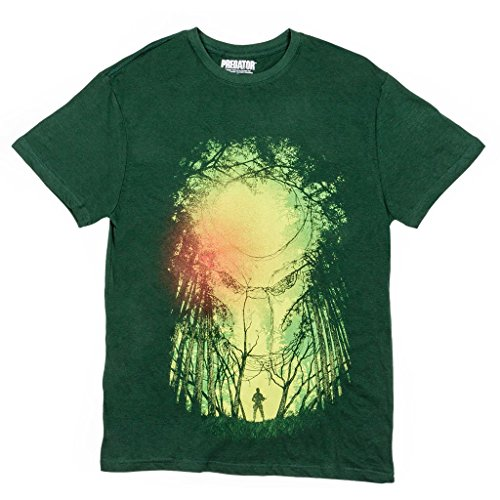 Predator in Jungle Men's 80s Movie T-Shirt
