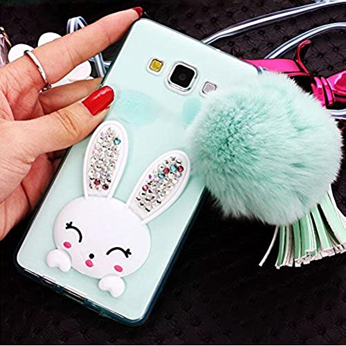 Galaxy S6/S6 Edge/S7/S7 Edge/Iphone 7/7 plus Rabbit Case,Jesiya Super Cute 3D Rabbit With PU Leather Tassel Fur Sales