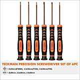 Precision Screwdriver Set of 6, TECKMAN Phillips