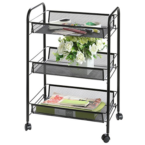 Rolling Storage Office Supplies Organizer
