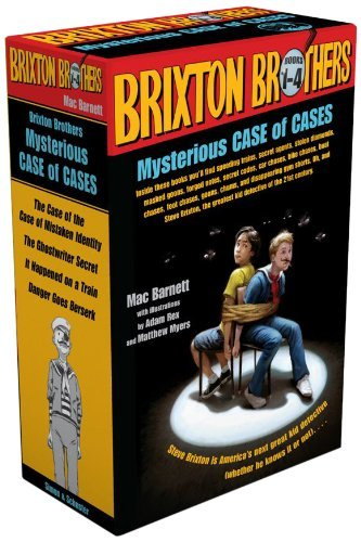 Brixton Brothers Mysterious Case of Cases: The Case of the Case of Mistaken Identity; The Ghostwriter Secret; It Happened on a Train; Danger Goes Berserk by Mac Barnett (2013-10-22)