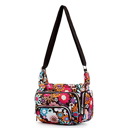 Handbag – TOOGOO(R)Women Messenger Bags Print Floral Cross Body Shoulder  Canvas Hobo 5f2e8b850ee27