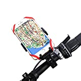 Gobike Universal Bike Cell Phone Mount Bicycle Holder Cradle Clamp for Smartphone GPS other Devices, 360 Degrees Rotatable