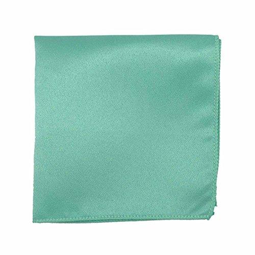Spencer J's Satin Pocket Squares Handkerchief Boys and Mens (Mint) by Spencer J's (Image #1)