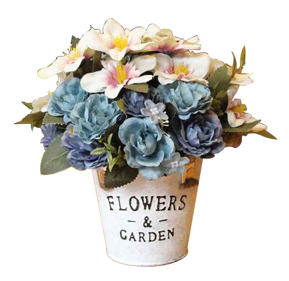 silk flower arrangements black temptation beautiful artificial flowers silk flowers fake flowers with basket cosmos blue