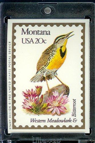 1991 Bon Air #Montana Stamp Replica Trading Card #26