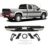 Painted Tailgates MBI AUTO - New Complete Chrome Rear Step Bumper Assembly for 1999-2006 Chevy Silverado GMC Sierra 1500 Truck GM1103122
