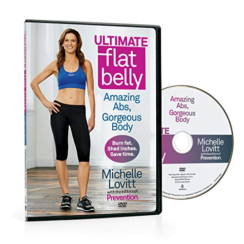 Ultimate Flat Belly DVD Michelle Lovitt Amazing Abs Gorgeous Body