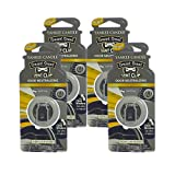 Yankee Candle Car Freshener Smart-Scent Vent Clips, 4-Pack (New Car Scent)