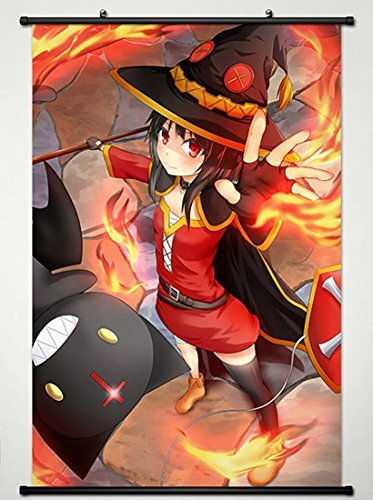 Wall Scroll Poster Fabric Painting For Anime KonoSuba God's