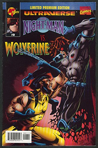 NIGHT MAN vs WOLVERINE #0 Malibu comic book 8 1995 Marvel Ultraverse