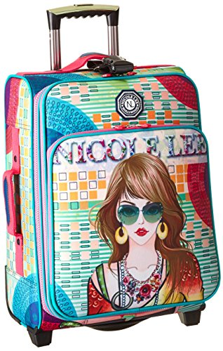 nicole-lee-20-inch-crickled-nylon-carry-on-suzy-one-size