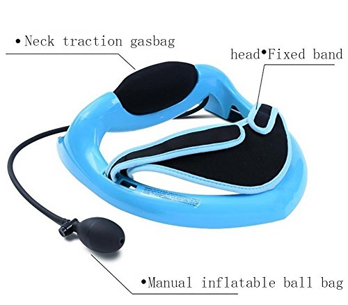 - MF@SQY Inflatable cervical traction cervical curvature correction to relieve neck pain