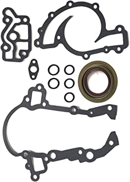 ECCPP Engine Replacement Timing Cover Gasket Compatible with 2000 2001 2002 2003 2004 2005 Pontiac Bonneville 4-Door 3.8L SLE Sedan