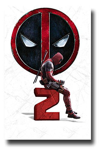Deadpool 2 Poster Movie Promo 11x17 inches Dead Pool Sitting