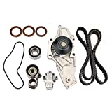 #10: AUCERAMIC Timing Belt Kit with Water Pump and Tensioner for 1998-2002 HONDA ACCORD 3.0L 99 ODYSSEY 3.5L 1997-1999 ACURA CL 3.0L 99 TL 3.2L