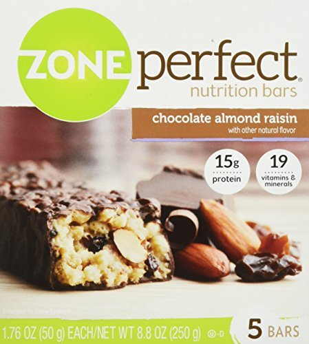 (Zone Perfect Chocolate Almond Raisin Nutrition Bars 5 Count by Zone Perfect)