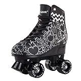 Skate Gear Cute Graphic Quad Roller Skates for Kids