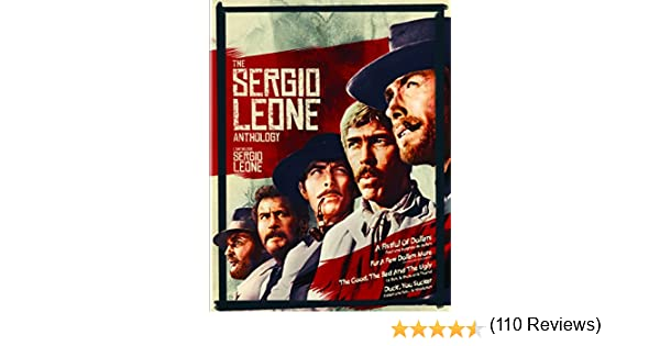 Sergio Leone Anthology Bd-cb [Blu-ray]: Amazon.es: Cine y Series TV