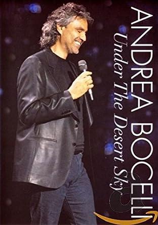 Andrea Bocelli: Under The Desert Sky - Live In Las Vegas DVD