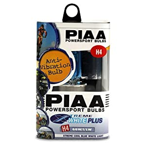 PIAA 70456 Xtreme White Plus H4 60/55W Bulb - Each