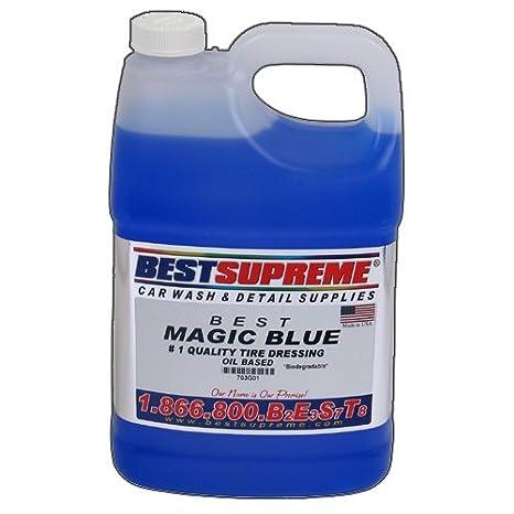 Amazon Com Magic Blue Tire Dressing 1 Gallon Automotive