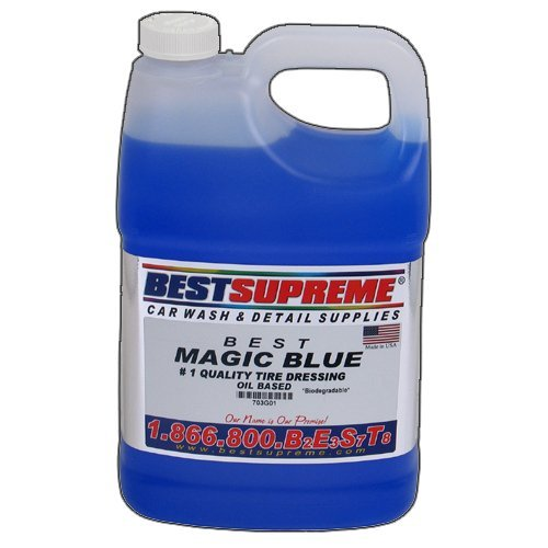 Magic Blue Tire Dressing 1 Gallon Best Tire Dressing