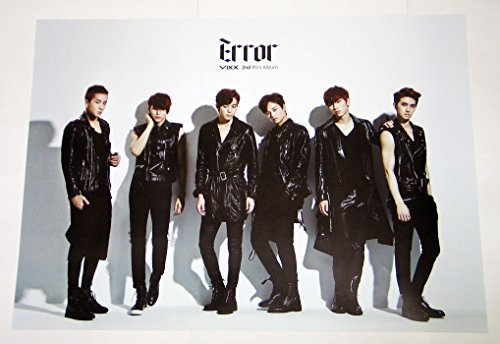 VIXX - Error (2nd Mini Album) OFFICIAL POSTER 28.7 x 13.7 inches by JellyFish Entertainment