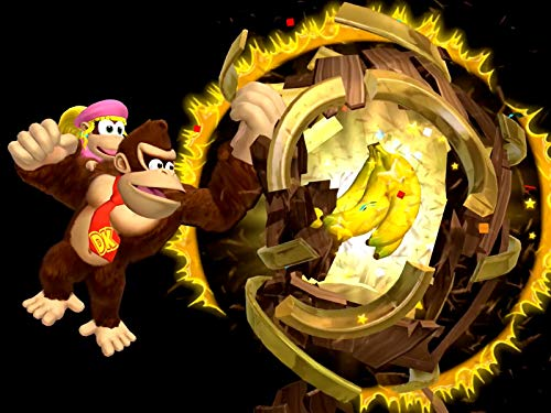 Clip: World 5 Juicy Jungle (Donkey Kong Country Returns 3d Puzzle Pieces)