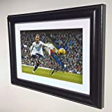 Signed Christian Eriksen Tottenham Hotspur Spurs Autograph Photograph Picture Photo Frame sm by Kicks