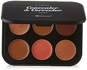 BH Cosmetics 6 Color Corrector & Concealer, Dark