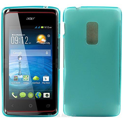 Acer Liquid Z630 / Z630s Caso Elegante - Turquesa Tpu Gel Funda Case Para El Acer Liquid Z630 / Z630s - thinkmobile turquesa