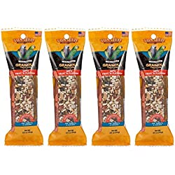 Sunseed 4 Pack of Vita Prima Grainola Treat Bar with Fruit 'n Flaxseed
