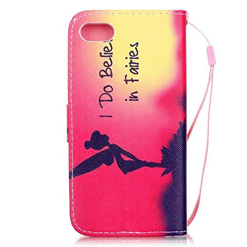 iPhone 7 Hülle,iPhone 7 Leder Hülle,iPhone 7 Wallet Hülle,iPhone 7 Blumen Hülle,Flip Cover Leder Blumen Etui Lederhülle Case für Mädchen für iPhone 7,EMAXELERS iPhone 7 (4.7 Zoll) Hülle Slim,Niedlich  Animal Flower 11