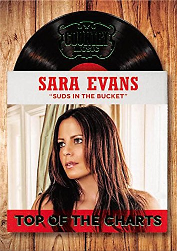 "Sara Evans trading card (Country Music, ""Suds in the Bucket"") 2014 Panini Top of the Charts #23 from Autograph Warehouse"