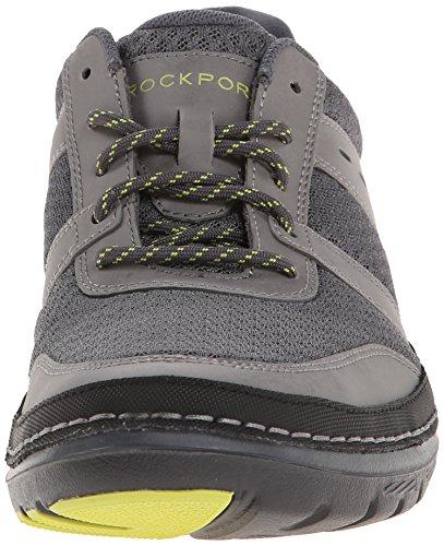 Rockport–Mens Activflex Rocsports guardabarros malla zapatos gris
