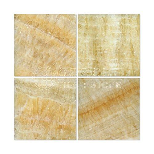 Honey Onyx 12 X 12 Polished Premium Field Tile (Lot of 50 sq. -