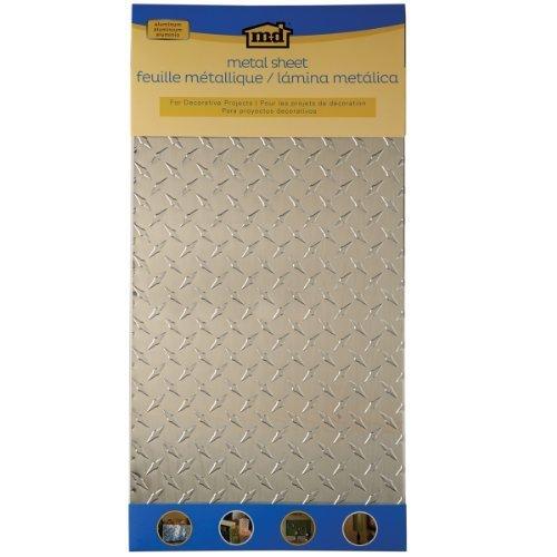 M-D Building Products 57320 Decorative Diamond Tread Aluminum Sheet by M-D Building Products